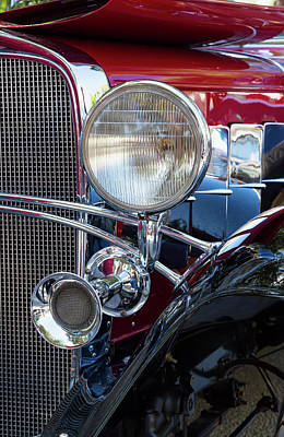 Photograph - Headlight And Horn by Arthur Dodd