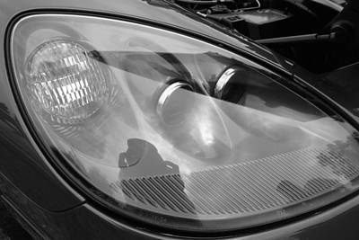 Photograph - Headlight Assembly by John Schneider