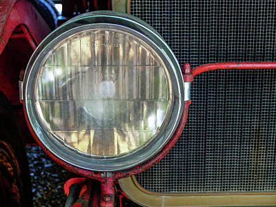 Photograph - Headlight by Kelly E Schultz