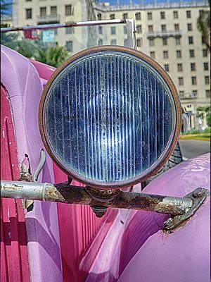 Photograph - Headlight by R Thomas Berner