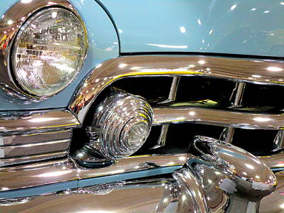 Photograph - Headlight Smile by Randall Weidner