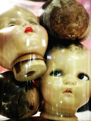 Photograph - Heads In A Jar by Newel Hunter