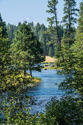 Photograph - Headwaters Of The Metolious by Mick Anderson