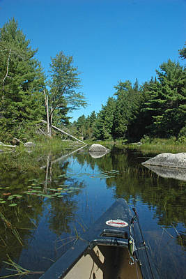 Down East Maine Photograph - Headwaters by Robert Anschutz