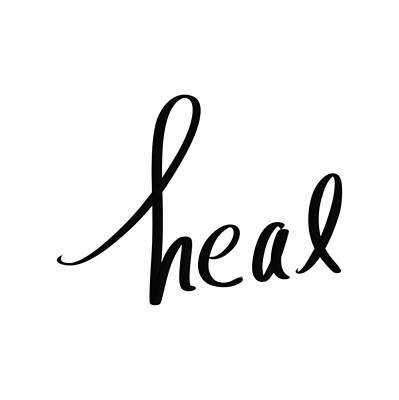 Drawing - Heal by Bill Owen