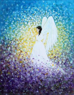 Painting - Healing Angel 3 by Kume Bryant