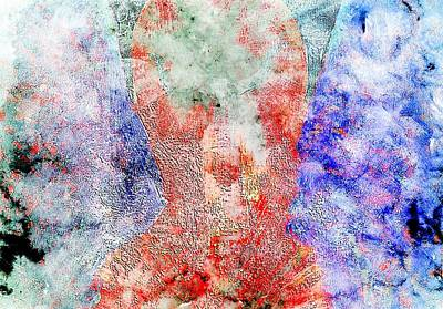 Mixed Media - Healing Angel by Dorothy Berry-Lound