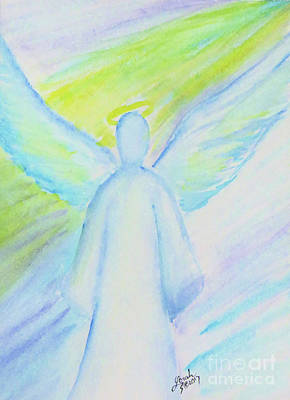 Painting - Healing Angel by Lorah Tout