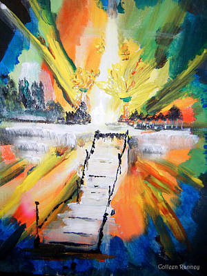 Overcoming Painting - Healing by Colleen Ranney