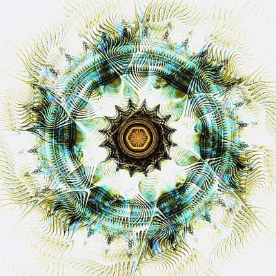 Wheel Digital Art - Healing Energy by Anastasiya Malakhova