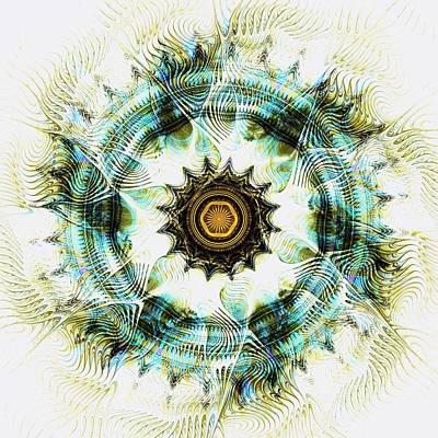 Healing Energy Art Print by Anastasiya Malakhova