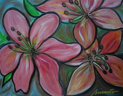 Painting - Healing Flowers by Pristine Cartera Turkus