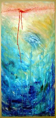 3-dimensional Painting - Healing II by Nancy Mueller