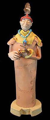 Ceramic Art - Healing  by Judy  Hensley
