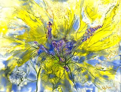Healing Painting For Viet Art Print by Heather Hennick