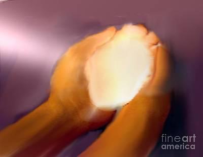 Painting - Healing Power by Belinda Threeths