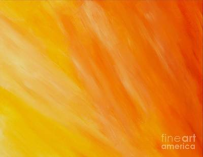 Brilliant Sun Painting - Healing Rays - Heaven Series by Tracy Evans