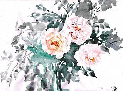Healing Roses -20 Art Print by Sweeping Girl