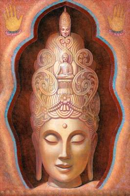 Painting - Healing Tara by Sue Halstenberg
