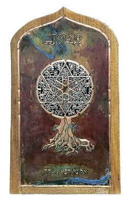 Mixed Media - Healing The Tree Of Life by Shahna Lax
