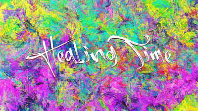 Digital Art - Healing Time by Payet Emmanuel