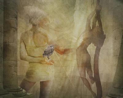 Digital Art - Healing Touch by Terry Fleckney
