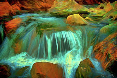 Water Filter Mixed Media - Healing Water by Todd Yoder