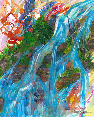 Painting - Healing Waters by Denise Hoag