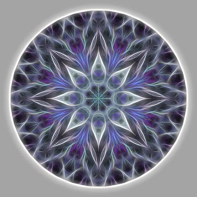 Digital Art - Health And Happiness Mandala by Beth Sawickie