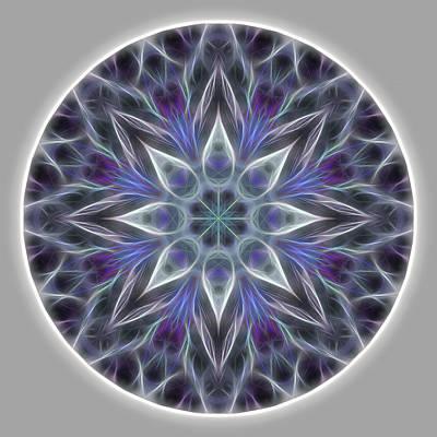 Digital Art - Health And Happiness Mandala by Beth Sawickie