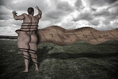 Conscious Digital Art - Health Conscious by Solomon Barroa