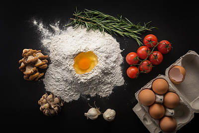 Health Food, Cooking Concept. Art Print by Valentin Valkov
