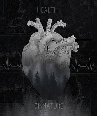 Digital Art - Health Of Nature 3 by Bekim Art