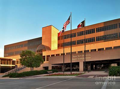 Photograph - Health Sciences Center by Mae Wertz