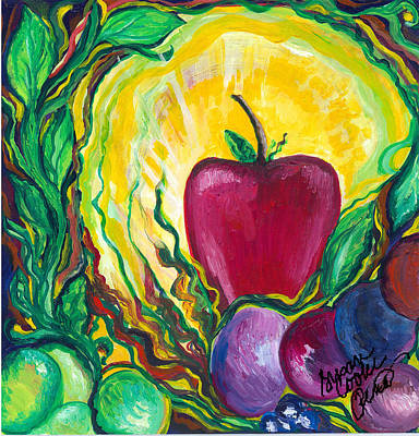 Painting - Health by Susan Cooke Pena