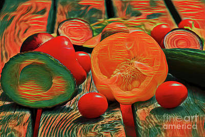 Photograph - Healthy Eating 19518 by Ray Shrewsberry