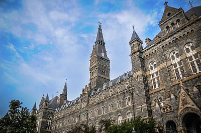 Healy Hall - Georgetown University Art Print