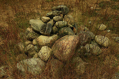 Photograph - Heap Of Rocks by Nareeta Martin