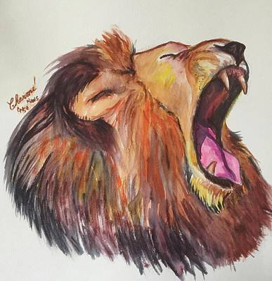 Painting - Hear My Roar  by Charme Curtin