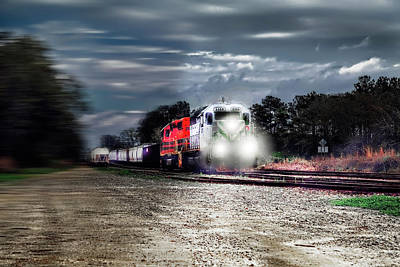 Photograph - Hear That Train A' Coming by Kay Brewer