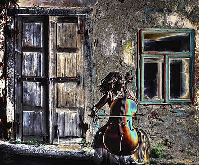 Photograph - Hear The Cello Sing by Pennie McCracken