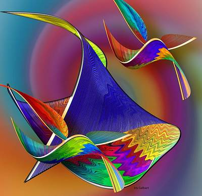 Digital Art - Hear The Music And Dance by Iris Gelbart