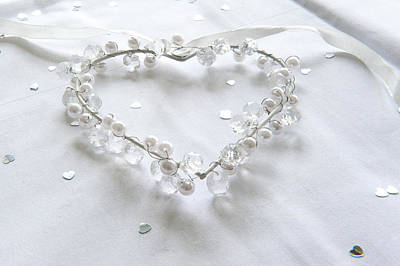 Photograph - Hear With Pearls by Helen Northcott
