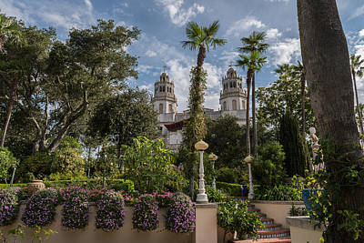 Photograph - Hearst Castle by John Johnson