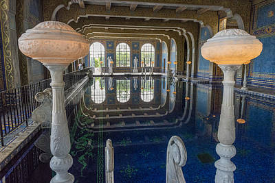 Photograph - Hearst Castle Pool by John Johnson
