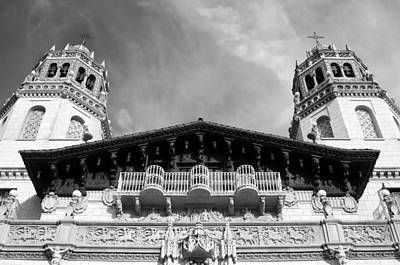 Photograph - Hearst Castle Towers by Matt Hanson