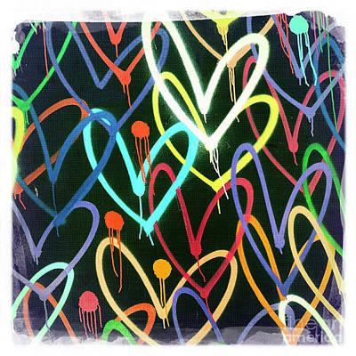 Heart 2 Art Print by Nina Prommer