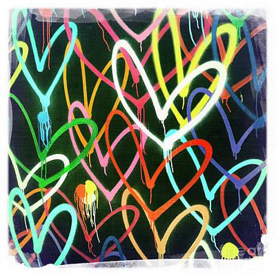 Heart 3 Art Print by Nina Prommer