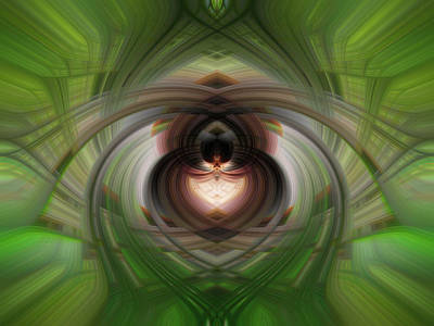 Photograph - Heart 6 - Yin by Dawn Eshelman
