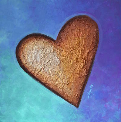 Painting - Heart by Agata Lindquist